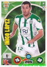 093 INIGO LOPEZ ESPANA CORDOBA.CF PAOK Saloniki CARD ADRENALYN 2015 PANINI