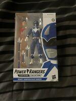 Mighty Morphin Blue Ranger Power Rangers Lightning Collection 6-Inch Figure *NIB