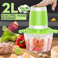 2L Multi-function Electric Meat Grinder Food Vegetable Blender Stuffing