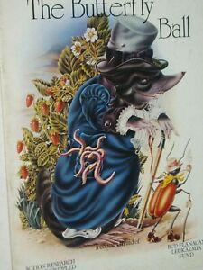 ROGER GLOVER & FRIENDS: BUTTERFLY BALL & THE GRASSHOPPER'S FEAST..PROGRAMME.1975
