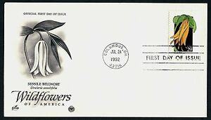 #2662 29c Sessile Bellwort, Art Craft-PCS FDC ANY 5=