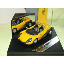Renault spider salon de geneve 1995 yellow 1:43 speed without windshield