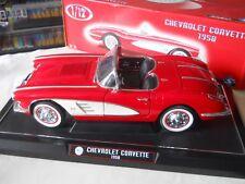 Solido 1958 Chevrolet Corvette 1:12 Diecast