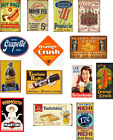ho scale weathered food & beverage decals/2