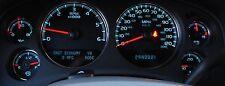 2007 - 2013 Chevy Silverado Gauge Cluster Speedometer Rebuilt Instrument Panel