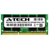 8GB ECC SODIMM DDR3L PC3-10600 Server Memory RAM for SuperMicro A1SRi-2758F