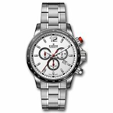 EDOX 10229 3M AIN Men's Chronorally S Grey Quartz Watch