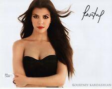 Kourtney Kardashian Authentic Signed 8x10 Photo Jsa Sexy Kardashian Sister
