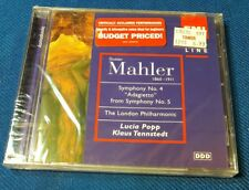 Gustav Mahler 1860-1911 CD Brand New - Free Shipping - Sealed Original