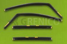 OPEL ZAFIRA A 5-portes 1999-2005 Deflecteurs de vent 4-pièces HEKO Bulles