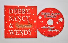 DEBBY & NANCY + WENDY VAN WANTEN Nog één sneeuwvlok 2-track CDSingle Card sleeve