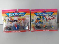 Micro Machines Spiderman & Xmen Collection Lot Galoob 1993