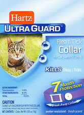 NEW! Hartz UltraGuard FLEA & TICK COLLAR for Cats & Kittens 7 MONTH PROTECTION