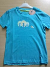 Camiseta de niña de 2 a 16 años de color principal azul
