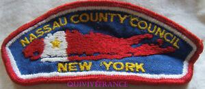 BG10965 - PATCH NASSAU COUNTY COUNCIL NEW YORK - BOYS SCOUTS