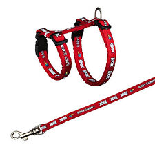 Trixie Harness With Lead For Small Rabbits, Nylon, 20-33cm/8mm, 1.25m TX6265