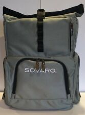 Sovaro Soft-Sided Backpack Cooler Gray Black