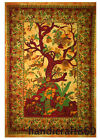Twin Hippie Life Of Tree Tapestry Wall Hanging Throw Indian Decor Bedspread Art