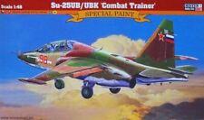 SUKHOI Su-25 UBK (SOVIETISCHE, SLOVAKISCHE & UKRAINISCHE MARK.) 1/48 MISTERCRAFT