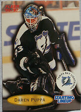 1997 Starting Lineup Darren Puppa Tampa Bay Lightning Hockey Card