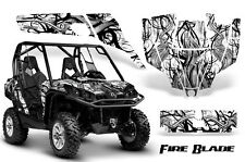 CAN-AM COMMANDER 800R 800XT 1000 1000XT 1000X GRAPHICS KIT DECALS STICKERS FBBW