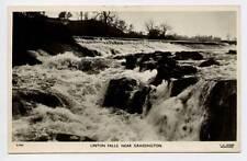 (w15q95-341) Real Photo of  Linton Falls, GRASSINGTON  c1950  Unused VG-EX
