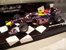 Minichamps F1 1/43 Red Bull Renault Rb6 M.webber 2010