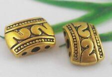 30pcs Tibetan Gold Connectors Findings 11x8mm  (Lead-free)