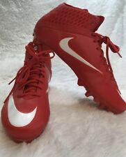 New Men's Nike Vapor Speed Red Football Cleats 847089-614 Us Size 12.5 Nwob