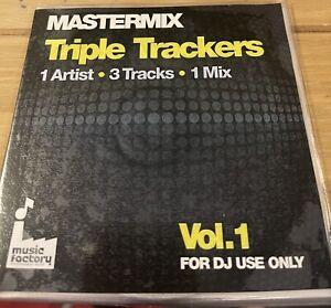 MASTERMIX TRIPLE TRACKERS VOL 1 DJ MIX CD LIKE DMC