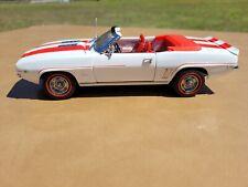 1969 Chevrolet Camero Ss Convertible 1:24 Diecast Danbury Mint Collection