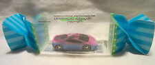 "Hot Wheels CUSTOM LAMBORGHINI ""Hello Kitty"" Real Riders in Display Case!!!"