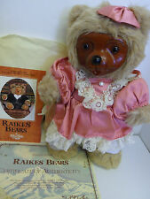 Robert Raikes Bears PENOLOPE w COA Mint 1986 #J5752 Applause