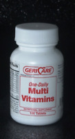 McK Geri-Care One Daily Multivitamin Supplement Tablet 100 Ct