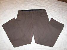 Women's Gap Brown Khaki Pants - 8 Ankle - Original Fit