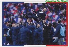 015 DIDIER DESCHAMPS EQUIPE FRANCE STICKER EURO 2016 FIERS D'ETRE BLEUS PANINI