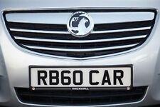 Vauxhall Genuine OEM Car Number Plates & Surrounds
