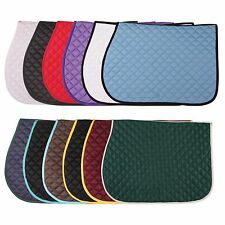 All Purpose English Saddle Pads by Dura-Tech® - various colors
