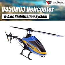 Walkera V450D03 FLY 6CH 3D 6-Axis Single Blade RC Elicottero + Trasmettitore