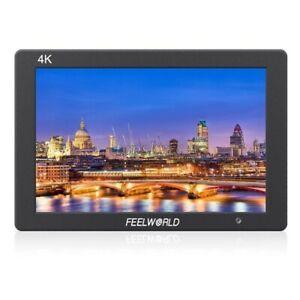 "FEELWORLD T7 7"" IPS Camera Field DSLR HD Monitor w/ F970 Battery Plate Sunshade"