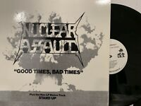 Nuclear Assault ‎– Good Times, Bad Times EP 1988 Relativity ‎– L33-17650 NM/NM
