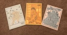 Authentic Clamp Chobits Rare Oop Postcard Set Lot Japan Chi