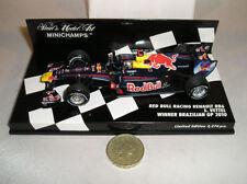 Voitures Formule 1 miniatures rouge MINICHAMPS