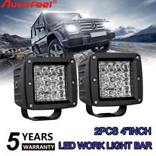 """4""""inch LED Work Light Bar CREE Spot Reverse 4WD White&Amber&Strobe Pods Offroad"""