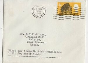 British Technology First Day Of Issue 1966 Philatelic Cover  270a