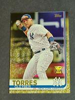 Gleyber Torres New York Yankees 2019 Topps Gold #7 914/2019