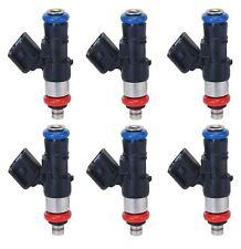 Set of 6 Denso Fuel Injectors for Edge Flex Fusion Taurus X MKS MKT MKZ Sable V6