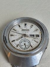PARTS OR RESTORATION PROJECT SEIKO HELMET 6139-7100 CHRONOGRAPH FAST DELIVERY A