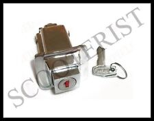 Vespa LML Seat Lock Assembly PX P Star Stella Lusso MY T5 New Chrome Complete