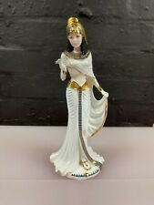 More details for coalport bone china figurine - cleopatra - limited edition 351 / 9500